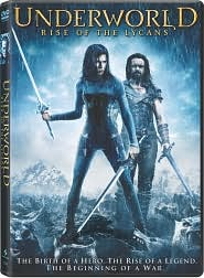 Underworld: Rise of the Lycans with Michael Sheen: DVD Cover