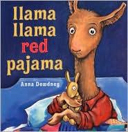 Llama, Llama Red Pajama by Anna Dewdney: Book Cover