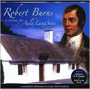 Robert Burns: A Tribute for Auld Lang Syne: CD Cover