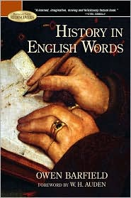 Cover of Barnes and Noble Rediscovers reissue of 'The History in English Words'