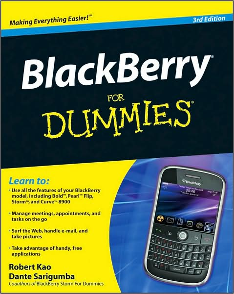 BlackBerry For Dummies 3rd Ed~tqw~_darksiderg preview 0