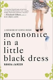Mennonite in a Little Black Dress by Rhoda Janzen: Book Cover