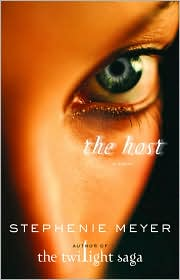 Book: The Host by Stephanie Meyer. Book jacket cover displayed through an affiliate contract with Barnes & Noble.com.