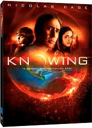 Knowing with Nicolas Cage: DVD Cover