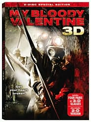 My Bloody Valentine 3D with Jensen Ackles: DVD Cover