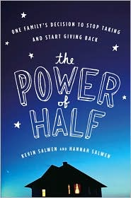 The Power of Half by Kevin Salwen: Book Cover