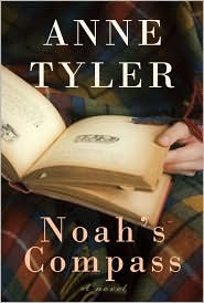 Noah's Compass by Anne Tyler: Book Cover