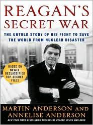 Reagan's Secret War by Martin Anderson: Audio Book Cover
