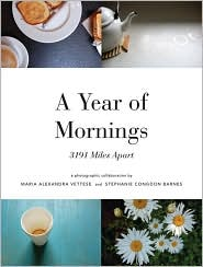 A Year of Mornings by Maria Vettese: Book Cover