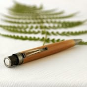Product Image. Title: Bamboo Tornado Pen
