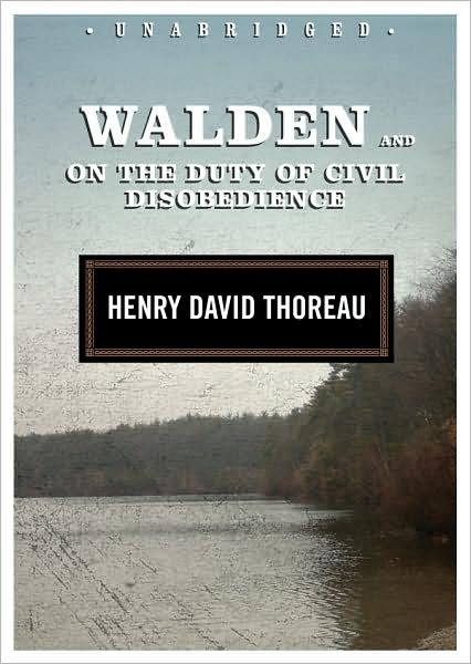 Walden and On the Duty of Civil Disobedience book cover