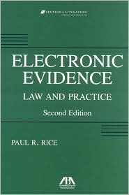 Electronic Evidence: Law and Practice