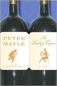 Book: Vintage Caper by Peter Mayle. Book jacket cover displayed through an affiliate contract with Barnes & Noble.com.