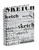 Product Image. Title: Sketches,Sketches Spiral Sketchbook (8.5.x 11)