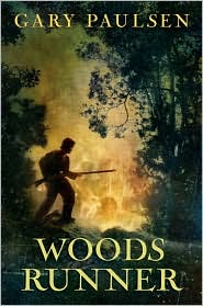 Woods Runner by Gary Paulsen: Book Cover