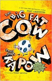 The Big Fat Cow That Goes Kapow by Andy Griffiths: Book Cover