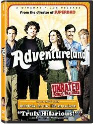 Adventureland with Jesse Eisenberg: DVD Cover
