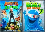 Monsters vs. Aliens / B.O.B.'s Big Break with Reese Witherspoon: DVD Cover