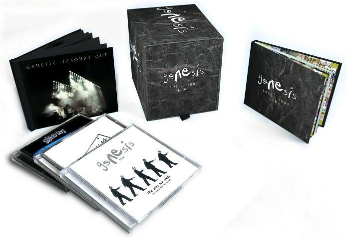 GENESIS LIVE: 1973-2007 (8 CDS/3 DVDS) | GeorgeKelley org