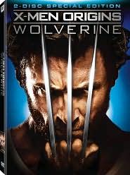 X-Men Origins: Wolverine with Hugh Jackman: DVD Cover