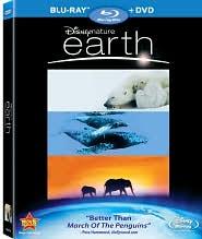 Earth with James Earl Jones: Blu-ray Cover