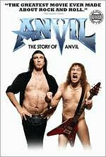 "Anvil! The Story of Anvil with Steve ""Lips"" Kudlow: DVD Cover"