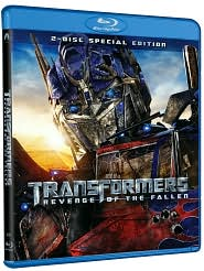 Transformers: Revenge of the Fallen with Shia LaBeouf: Blu-ray Cover