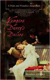 Vampire Darcy's Desire by Regina Jeffers: Book Cover