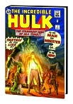 Book Cover Image. Title: The Incredible Hulk Omnibus, Volume 1, Author: by Jack  Kirby
