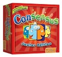 Product Image. Title: Consensus Junior Edition, the exciting new game where majority rules