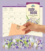 2010 Botanical Garden Note Nook Wall Calendar by Avalanche Publishing, Inc.: Calendar Cover