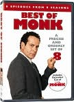 Video/DVD. Title: Monk: Best of Monk