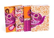 Product Image. Title: Jonathan Adler Love Dove Miniature Journals-Set of 4 (4&quot;x6&quot;)