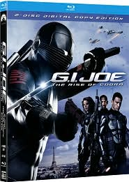 G.I. Joe: The Rise of Cobra starring Dennis Quaid: Blu-ray Cover
