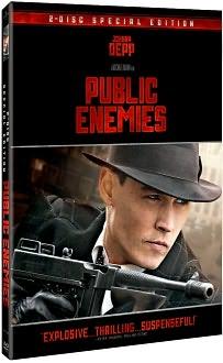 Johnny Depp in Public Enemies DVD