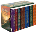 Book Cover Image. Title: Harry Potter Paperback Boxed Set, Books 1-7, Author: by J. K. Rowling