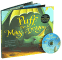 Book Cover Image. Title: Puff, the Magic Dragon, Author: by Peter Yarrow