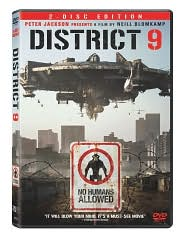 District 9 with Sharlto Copley: DVD Cover