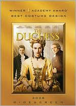 The Duchess with Keira Knightley: DVD Cover