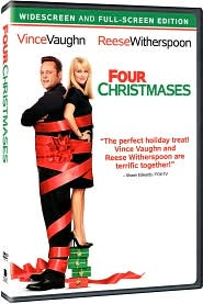 Four Christmases with Vince Vaughn: DVD Cover