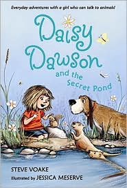 Daisy Dawson and the Secret Pond by Steve Voake: Book Cover