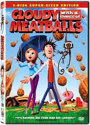 Cloudy With a Chance of Meatballs with Bill Hader: DVD Cover