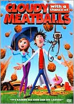 Cloudy With a Chance of Meatballs starring Bill Hader: DVD Cover