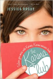 The Karma Club by Jessica Brody: Book Cover