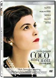 Coco Before Chanel with Audrey Tautou: DVD Cover