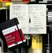 Product Image. Title: Moleskine Passions Wine Journal