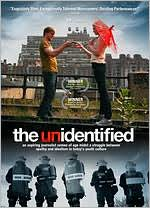 The Unidentified starring Kevan Tucker: DVD Cover