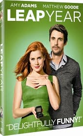 Leap Year starring Amy Adams: DVD Cover