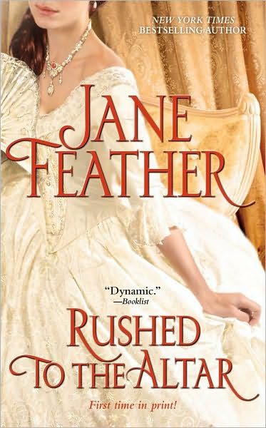 author jane feather comes