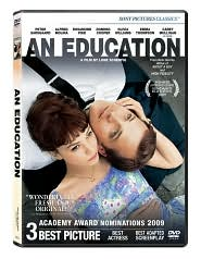 An Education starring Peter Sarsgaard: DVD Cover